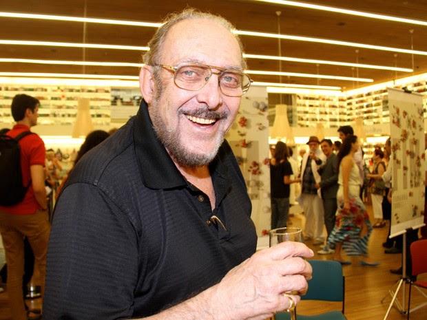 Luiz Carlos Miele em dezembro de 2013, durante lançamento do livro 'Fim', de Fernanda Torres, em São Paulo (Foto: Denise Andrade/Estadão Conteúdo/Arquivo)