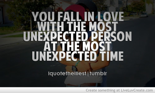 Unexpected Love Quotes For Him Free Images