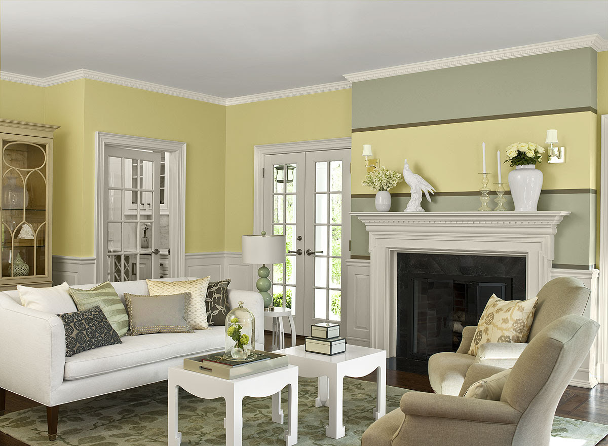 Eye Catching Living Room Color Schemes - Modern ...