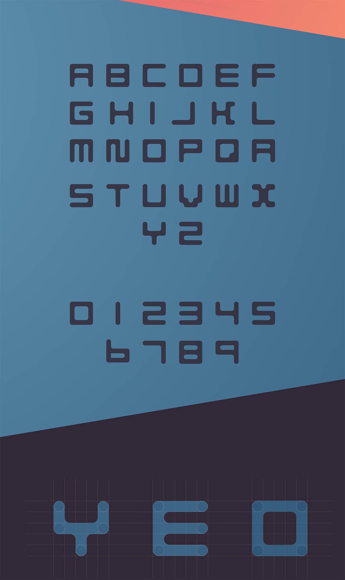 QUBO Font