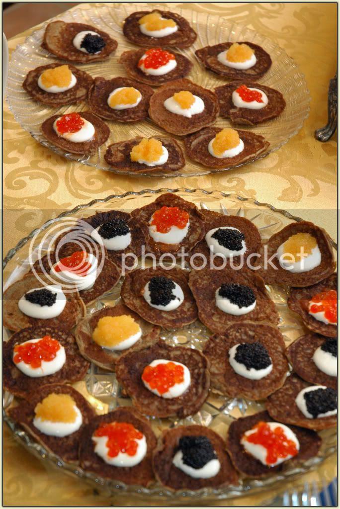 Blini and Caviary