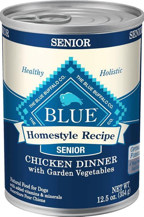 blue buffalo homestyle recipe senior chicken dinner