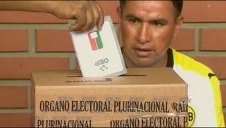 Votacions en el referèndum de la reforma constitucional a La Paz