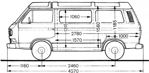 Vanagon Features Specs Engine Transmission Dimensions