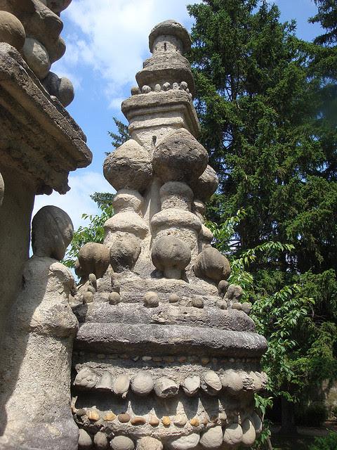 Деталь Идеального дворца Шеваля. Фото