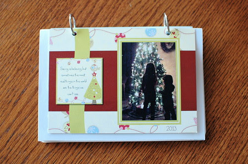 Easy Card Keepsake with Binder Rings