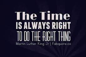 Doing The Right Thing Quotes