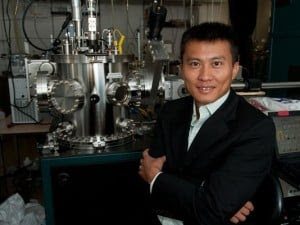 Yi Cui, Stanford associate professor of materials science and engineering, along with other researchers at Stanford, announced a breakthrough that might triple battery life in cell phones. (Courtesy of Steve Castillo/USA Today)