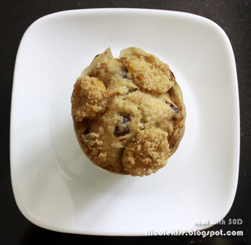 banana crumble muffin 2