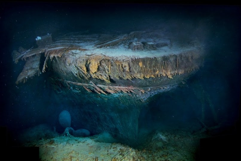 New Images Of Titanic Wreck Revealed Technology
