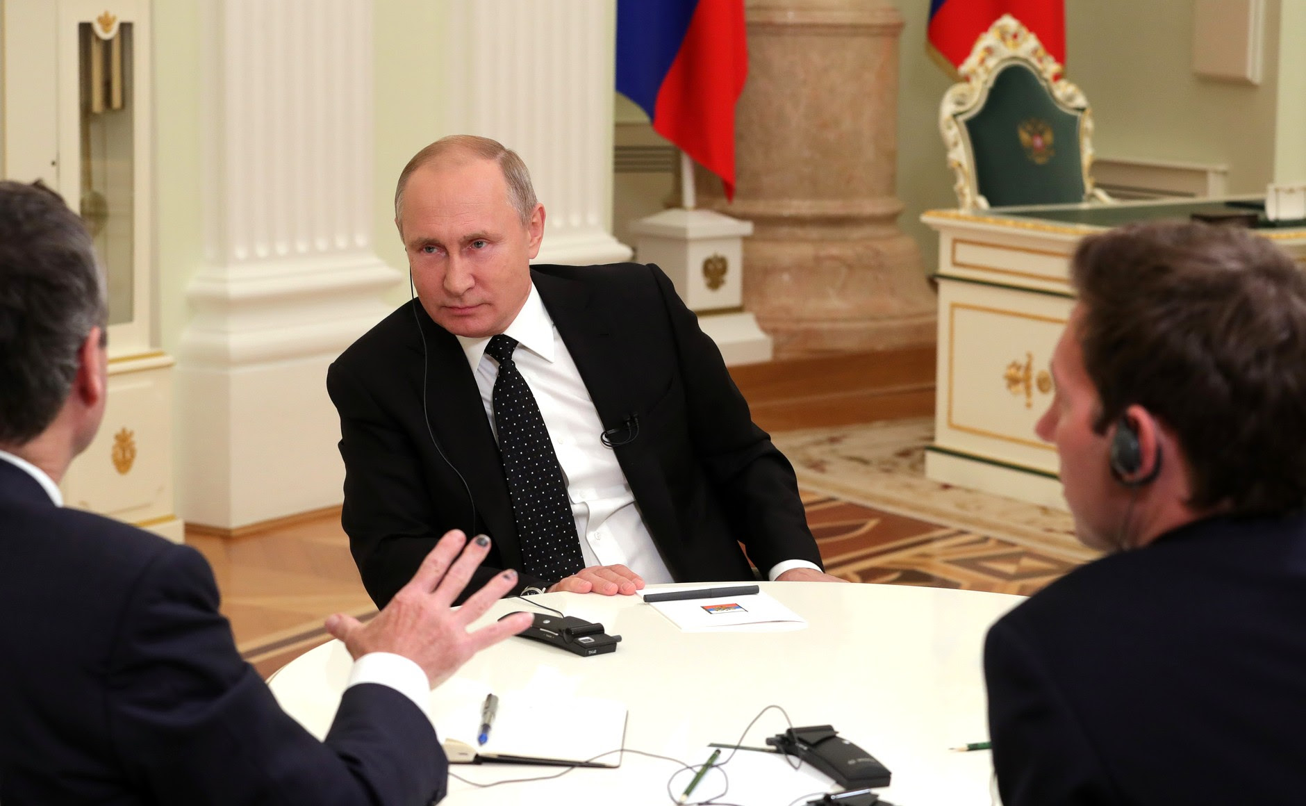 Vladimir Putin's interview with The Financial Times.