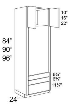 double oven cabinet plans - Bing images | Oven cabinet