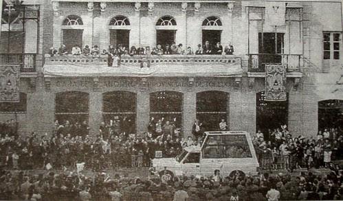 Visita de Juan Pablo II a Toledo en 1982