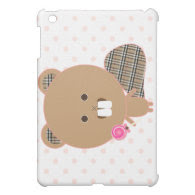 Chuck the Beaver  Cover For The iPad Mini