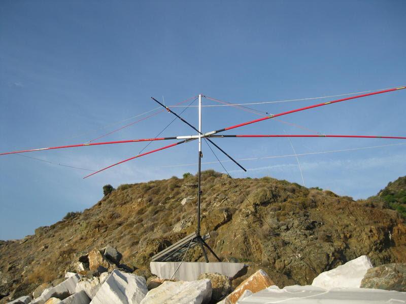 Marmara Island TC0MI Antenna