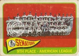 #267 Washington Senators Team