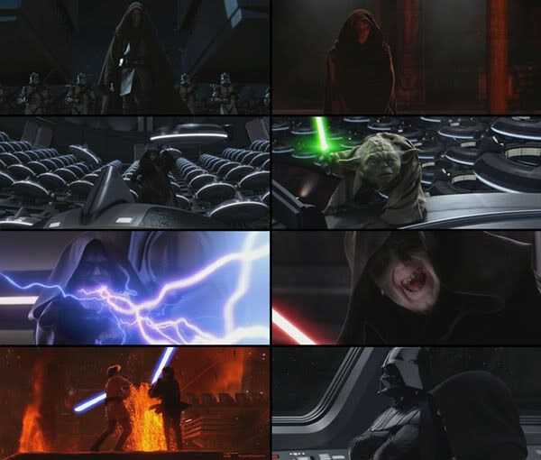 Another Revenge of the Sith theatrical trailer montage