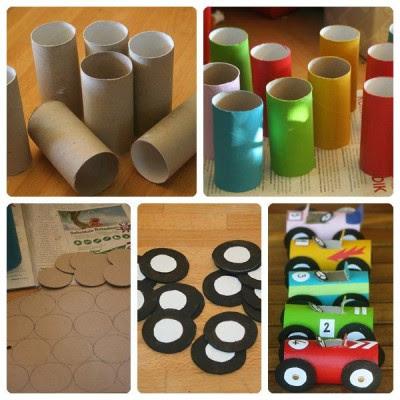 Jugetes material reciclado