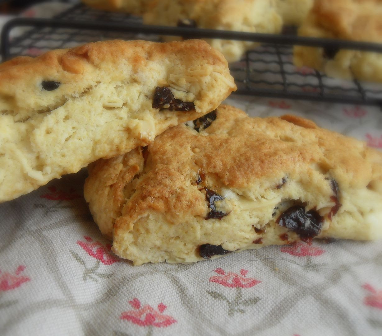 The English Kitchen: Sour Cherry, White Chocolate and ...