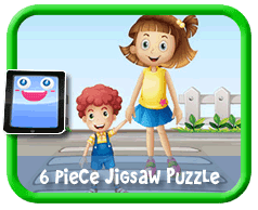 Crossing the Street Online jigsaw puzzle for kids