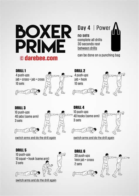 Boxer Prime: 30-Day Fitness Program | Allenamento