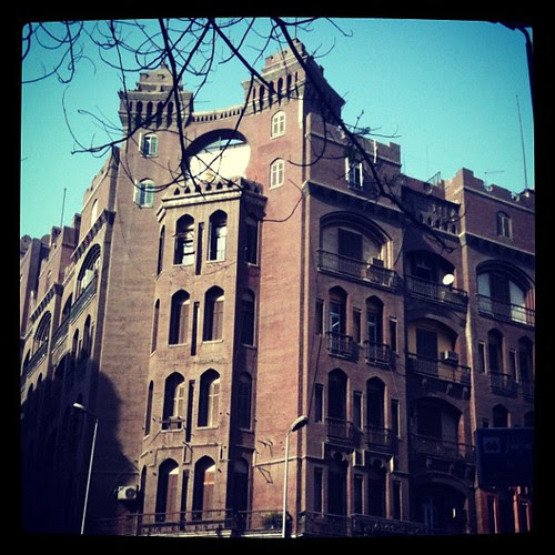 A building in Downtown Cairo