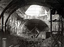 Picture: Antiquarium - war damage