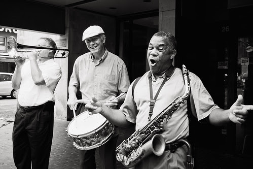 Street Jazz Band by Jesse Acosta