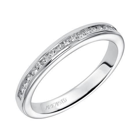 ArtCarved Diamond Wedding Band 14K   31 V221W L   Ben