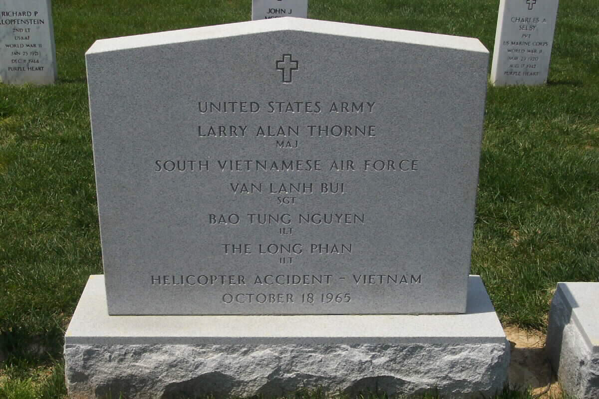 LA Thorne Gravesite PHOTO