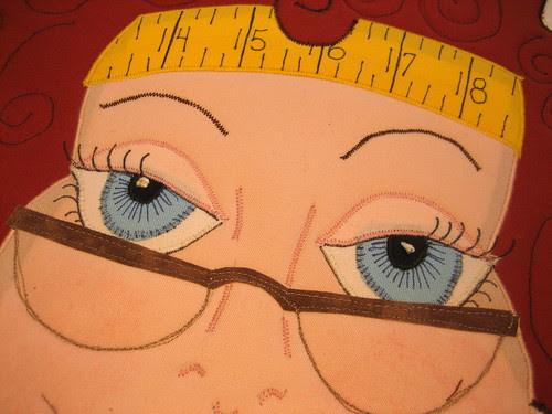 Julie's pretty eyes
