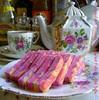NEOPOLITAN STRAWBERRY LAYERED CAKE
