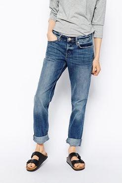 ASOS Brady Low Rise Slim Boyfriend Jeans