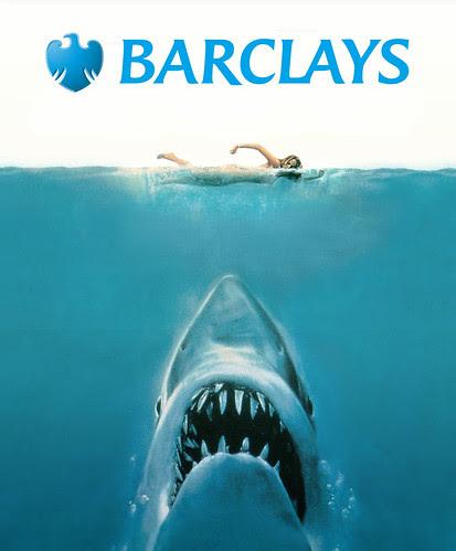 Barclays: We're not sharks by Teacher Dude's BBQ