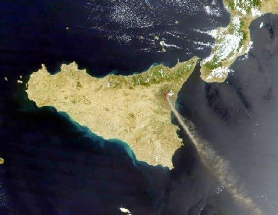 Δορυφορικές φωτογραφίες από εντυπωσιακά ηφαίστεια (33pics)