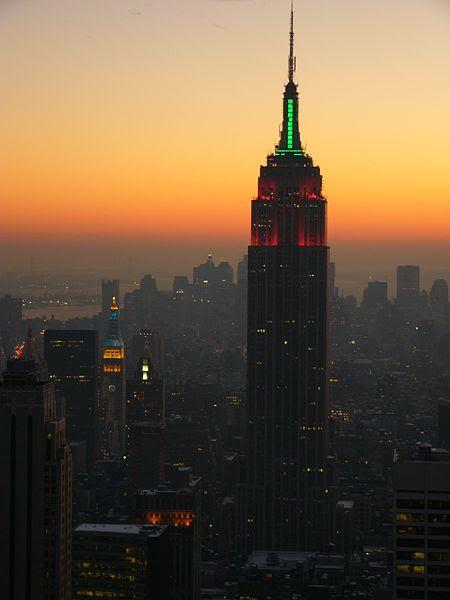 à la 11 ème place tout de meme avec 381 m sans antenne et 488,7 m en comptant celle-ci! (Empire State Building à New York)