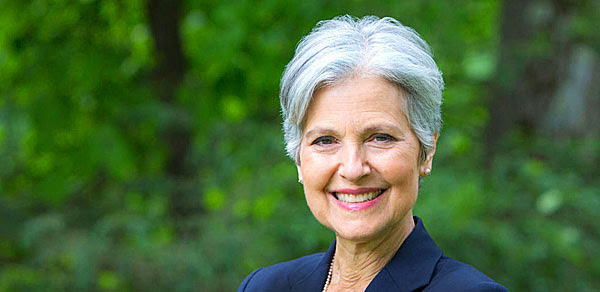 Jill Stein of the Green Party