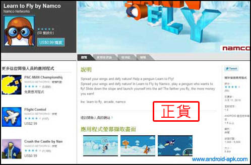 Learn To Fly Namco
