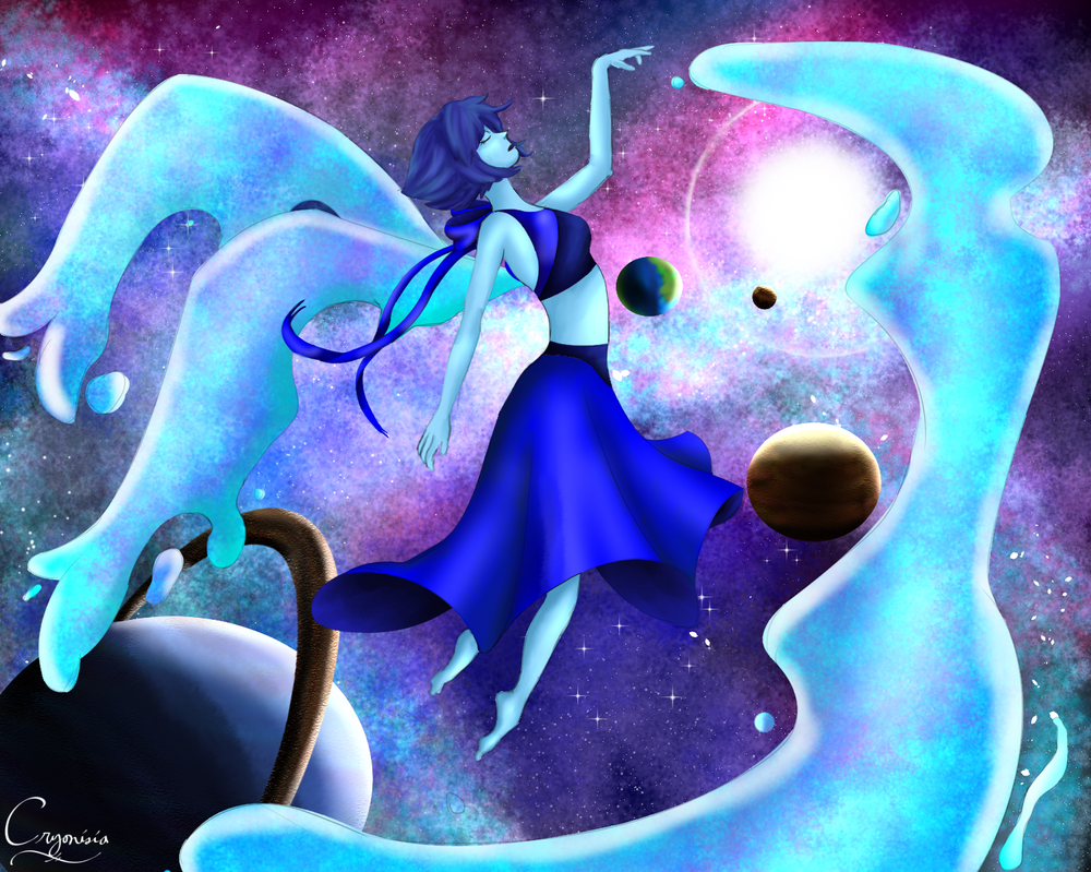 Steven Universe's space fairy! XD (or water bender, whatevs )