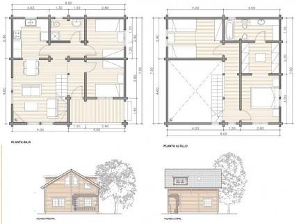Casas prefabricadas madera cuanto cuesta construir una - Cuanto cuesta una casa de madera ...
