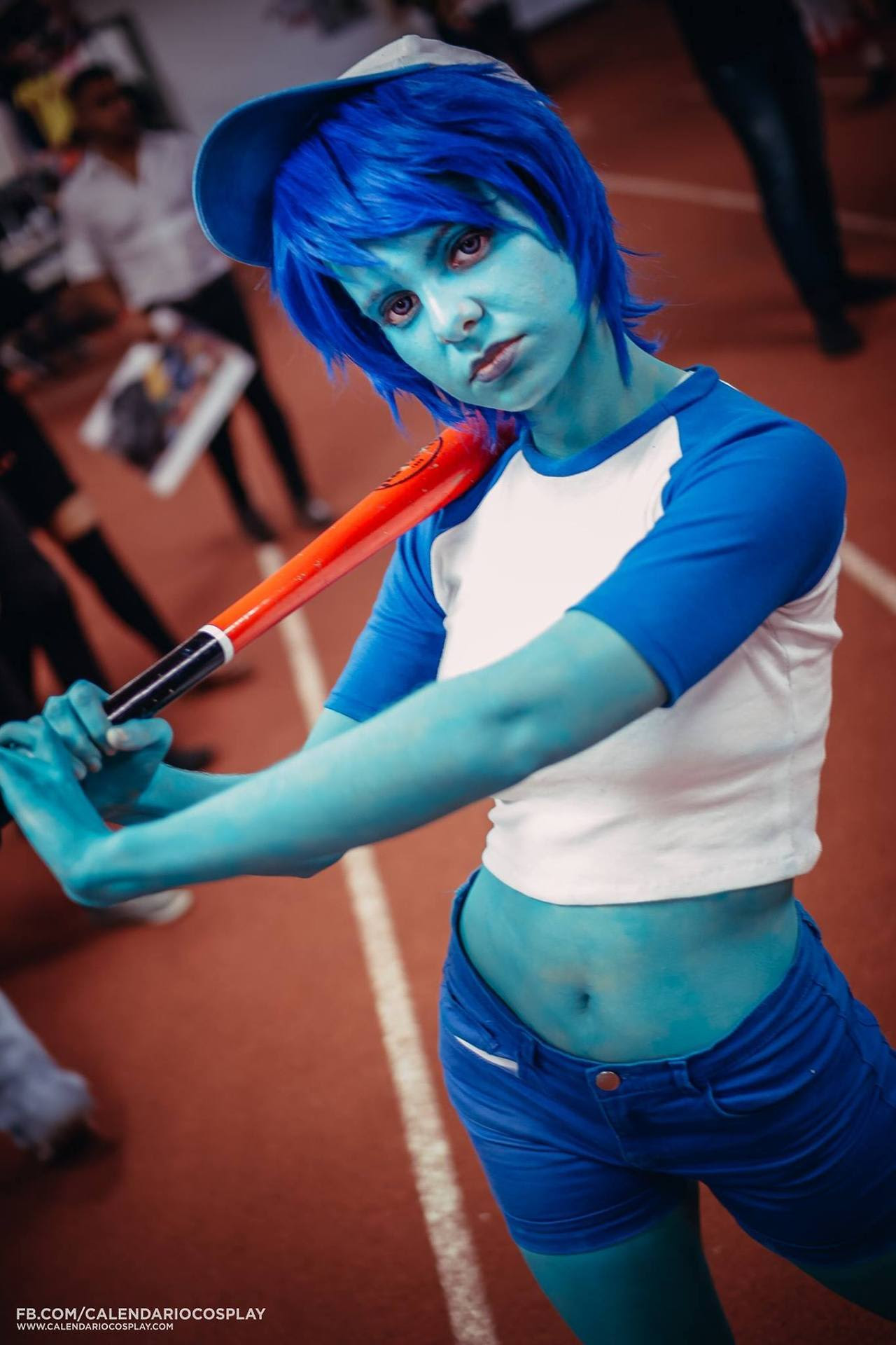 "💙 💜 ""Bob cosplay I did last year A friend was Amy, she looked perfect ♥O♥ """