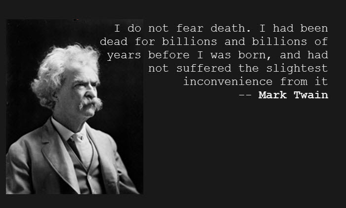Quotes About Not Fear Of Death 101 Quotes
