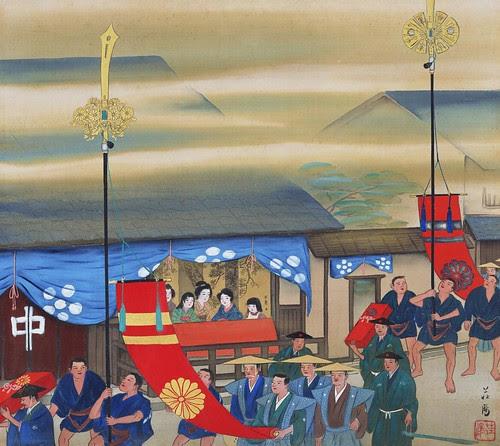 Imamiya Festival - Edo Period (no date)