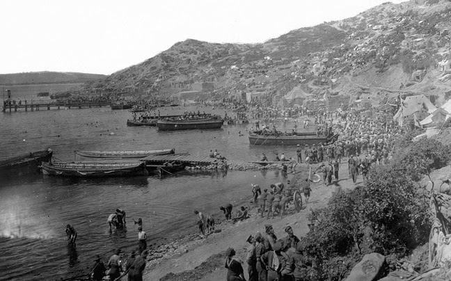 Οι Τούρκοι διώχνουν τους Αυστραλούς από την Καλλίπολη!