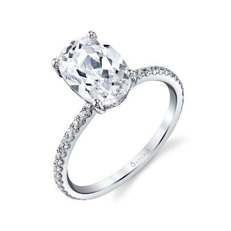 Maryam   Oval Cut Solitaire Engagement Ring   Sylvie