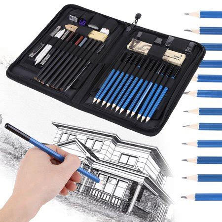 sketching pencils set drawing suppliesymiko pcs