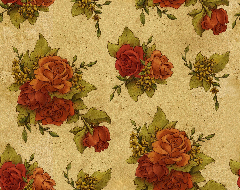 10+ Dark Floral Wallpapers | Floral Patterns | FreeCreatives