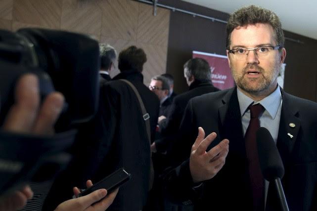 Le maire de Gatineau, Maxime Pedneaud-Jobin, est d'avis que les normes doivent... (Patrick Woodbury, Archives LeDroit)