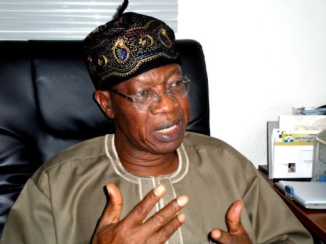 The Proposed Sale Of Assets Is A Mere Speculation – Lai Mohammed