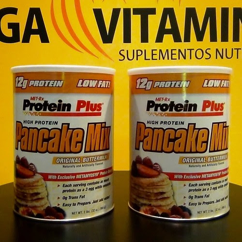 Panqueca de Whey Protein by Mega Vitaminas
